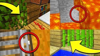 INVISIBLE BUTTONS in Minecraft?! Impossible Find The Button Challenge!