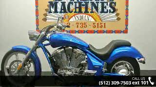10. 2011 Honda® Sabre® VT1300C  - Dream Machines Indian Mot...