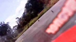 Rc Motorcycle Crash On Board Cam