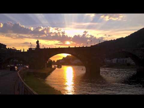 Heidelberg Neckar - Nostalgic Memory