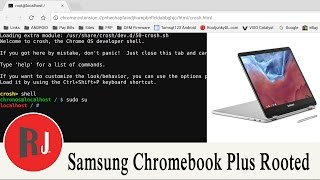 How to turn on developer mode and get a root shell on the Samsung Chromebook Plus. check out the links below in the video description for a great post on chromebook tips and tricks.Link to Chromebook tricks and hackshttp://www.rootjunky.com/chromebook-recovery-hacks-tricks/Check out PhonLab E-Campus, if you want to learn tons more about Phone repairs tips and tricks to help you repair smartphones. Use coupon code rootjunky9 at check out to get a nice discount.http://phonlab.teachable.com/?affcode=57417_o7w7j7zdHow to Identify the Code Name and model of your Android devicehttps://youtu.be/nCU45rgbDKwLink to RootJunky.com where you can find all my work in on easy to navigate place. tutorials, tips, tricks, root, restore, roms, Custom recovery and so much more.My Favorite Tech and what i used to make my youtube videoshttp://astore.amazon.com/root0f94-205 Things you need to know before rooting or hacking your android device https://youtu.be/n8LMyRqBViMHow to install Android Device drivers  http://youtu.be/j_KPGUMzrjUWhy Root Android devices video http://youtu.be/6vqnnLnOn3g Universal UnRoot App for all Devices http://youtu.be/ySNStU8OTuk My New Downloads Page is here http://rootjunkysdl.com/PLEASE READ Warning… do this at your own risk. I am not responsible for what you do to your device. I am happy to help with any problems my subscribers are having on their android devices. I am going to need lots of info from you to be able to help.  Because of the large amount of messages I get every day I will not answer any questions that do not include this info in the message thanks for understanding.  1.  What device you have.  2.  What android version you are running.  3.  What rom stock or custom rom / build number in about phone.  4.  What you have done to the device.  5.  Recovery stock, TWRP. CWM . With this info I will be able to help. FOLLOW ME http://RootJunky.comhttps://www.facebook.com/rootjunkyhttps://twitter.com/rootjunkyhttps://www.youtube.com/tomsgt123https://www.