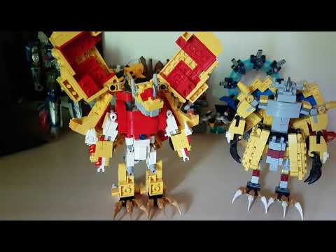 Lego DIGIMON DATA SQUAD Agumon Zu Shinegreymon