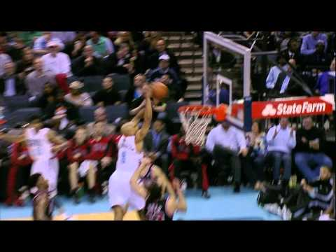 Video: Gerald Henderson Climbs the Ladder Over Noah for the Slam