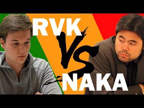 Hikaru Nakamura vs Robin van Kampen BLITZ DEATHMATCH