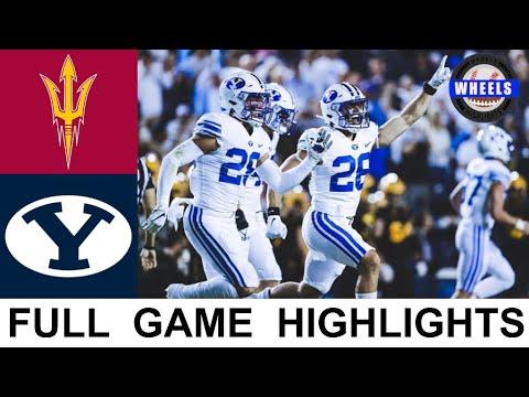 #23 BYU vs #19 Arizona State Highlights | College Football Week 3 | 2021 College Football Highlights