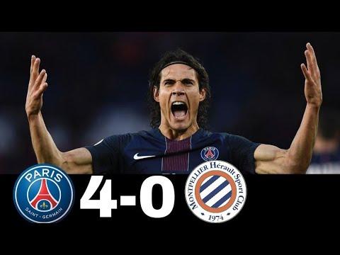 PSG VS Montpellier 4x0 | 27 January 2018 | All Goals HD