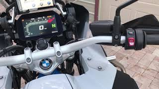 9. 2018 BMW R1200 GS GSA Hill Hold control overview - How it works