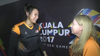 Malaysian netball team's hotshot An Najwa Azizan did not play a single minute in the final SEA Games preliminary round match...
