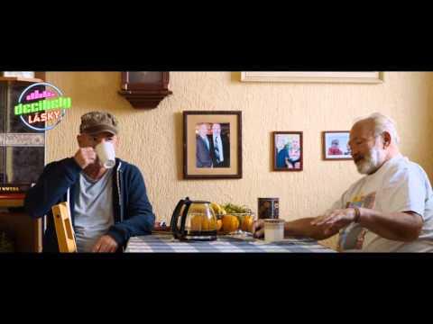 Dvakrát Rudolf Hrušínský ve filmu Michala Davida Decibely lásky