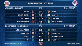 Высшая лига Amateur Futsal. Лучшая подборка.