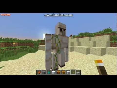 Comment construire un golem de fer dans minecraft la - Minecraft golem de fer ...