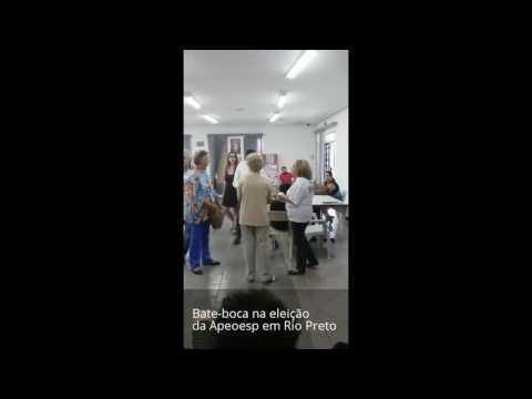 BARRACO NA APEOESP - Eleição em Rio Preto é marcado por bate-boca - DIÁRIO DO RODRIGO LIMA
