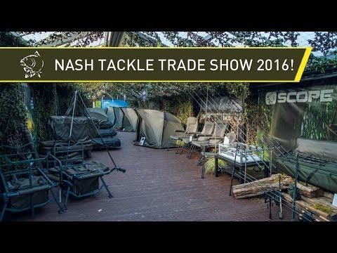 Nash Tackle Trade Show 2016