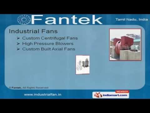 Industrial Dampers by Fantek, Chennai