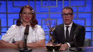 70th Emmy Awards: The history of the Emmy Statue with Maya Rudolph and Fred Armisen
