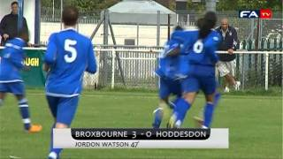 Broxbourne Borough V&E 4-0 Hoddesdon Town | The FA Cup Extra Preliminary Round 2011/2012