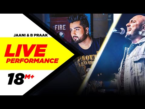 Jaani | B Praak | Urban Singh Crew |  Live Performance | Royal Stag Radio Mirchi Awards 2017