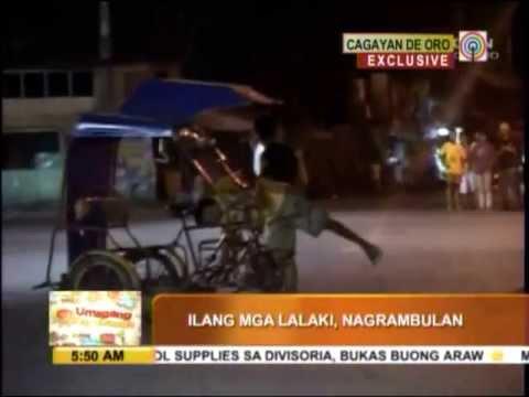 Caught on cam: Men fight solvent boys