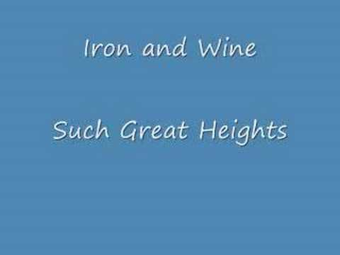 Such - iron and Wine - Such Great Heights.
