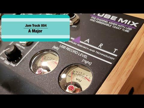 A Major - Jam Track 004