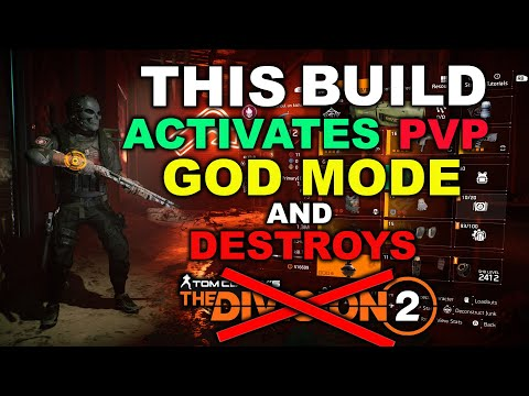 BUILD THAT DESTROYS DIVISION 2 PVP - BROKEN SURVIVALIST MEDKIT | The Division 2 New PVP exploit