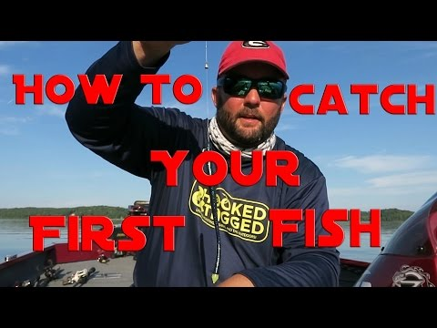 How To Fish - Fishing For Beginners -  How To Catch Your First Largemouth Bass