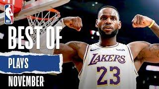 NBA's Best Plays   November 2019-20 NBA Season