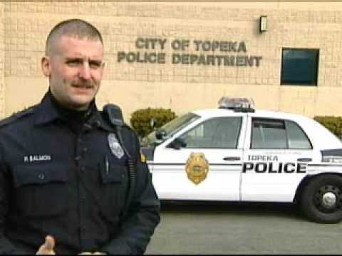 2008 Topeka Police Officer of the Year Credits K-9 Partner