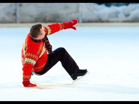 Worst Ice Skater Ever? (видео)