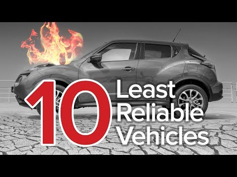Top 10 Least Reliable Vehicles: The Short List