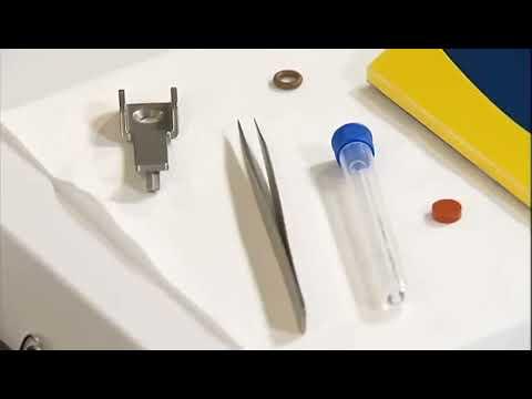 Hướng dẫn thay Liner Septum và O-ring trên máy GC