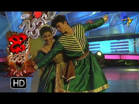 Sanketh And Priyanka Performance | Dhee Jodi | 5th October 2016 | ETV Telugu