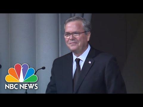 Jeb Bush On Mother Barbara Bush: She Was 'Our Role Model'   NBC News