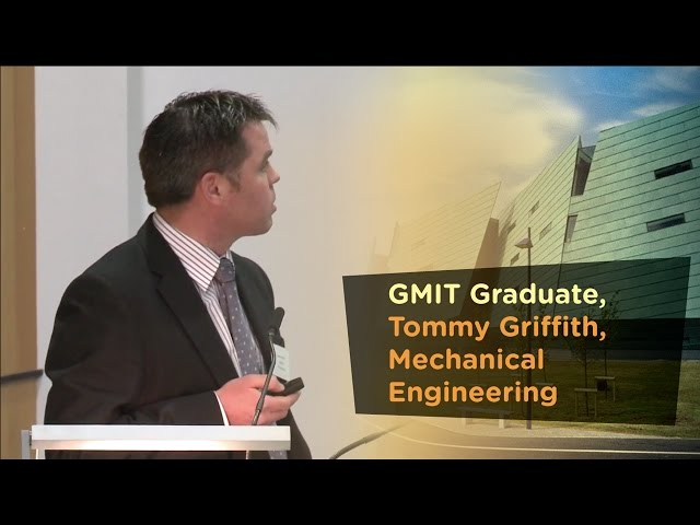 Mechanical Engineering Graduate, Tommy Griffith,