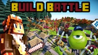 Video [Minecraft] Build battle avec ma soeur- un extraterrestre  ! MP3, 3GP, MP4, WEBM, AVI, FLV Mei 2017