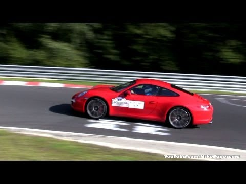 2x Porsche 991 Carrera S and 991 Cabrio on Nurburgring GT Events EVO