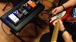 Johnny Hiland demos the Texas Flood, Pulse Drive, and the Casper!