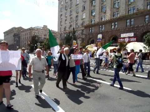 Марш за свободу Сибири успешно состоялся. В Киеве