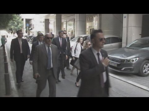 O Τζακ Λιου στο υπουργείο Οικονομικών