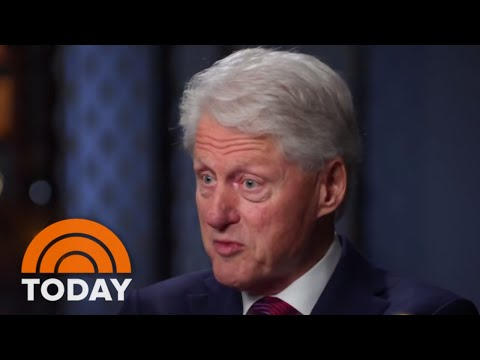 Bill Clinton: 'I Did The Right Thing' During Monica Lewinsky Scandal | TODAY