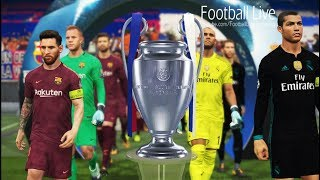 Video PES 2018   UEFA Champions League Final   Real Madrid vs FC Barcelona   Gameplay PC MP3, 3GP, MP4, WEBM, AVI, FLV Juli 2018