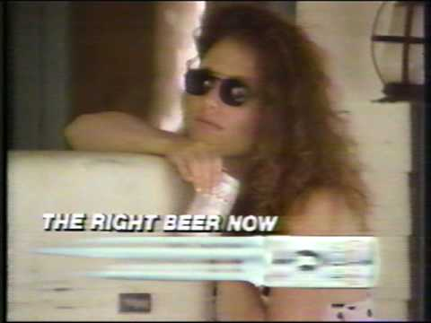 Coors Light the right beer now commercial 1988