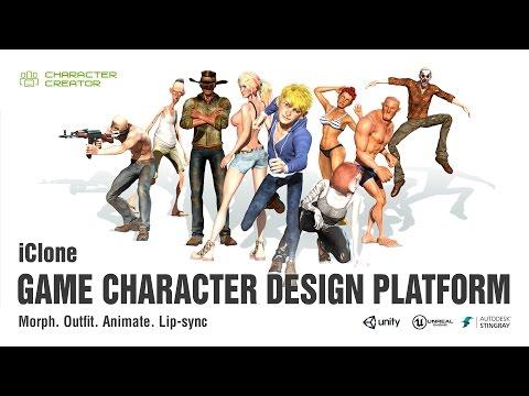iClone Game Character Design Platform