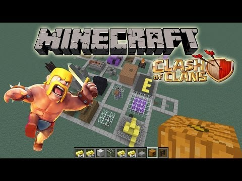 evantubehd's - Here's another one of Evan's Minecraft creations. A lot of people wanted to see Minecraft and Clash of Clans, so here's a video with BOTH! Evan uses the /sum...