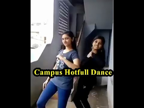 College Campus In Two Girls Hot Full Dance-Sadam Video World