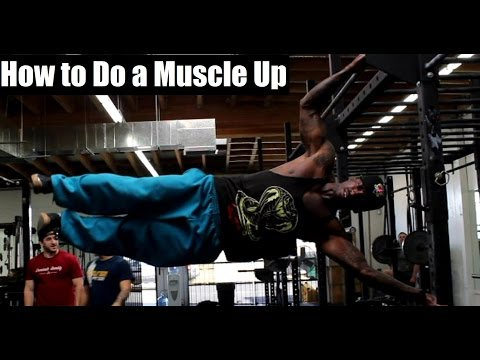 HOW To Do a Muscle Up (3 Simple Steps)