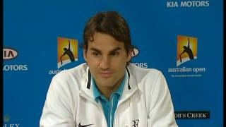 Roger Federer said he was surprised at the speed in which he beat Andy Murray in the Australian Open final. . Follow us on twitter...