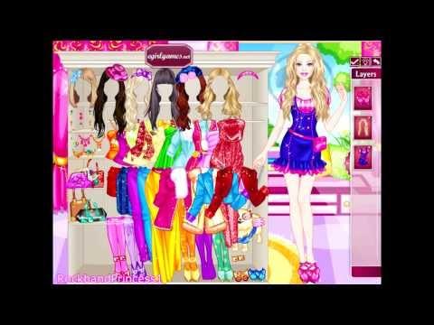 Barbie Online Games Glam Dress Up Game