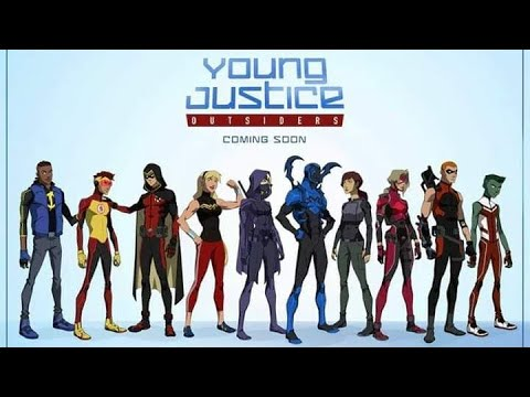 Young Justice Season 3 Outsiders 10,11,12,13