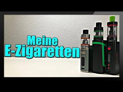 MEINE E-ZIGARETTEN / DAMPFEN!